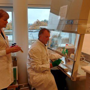 Mette - Allan - celle lab